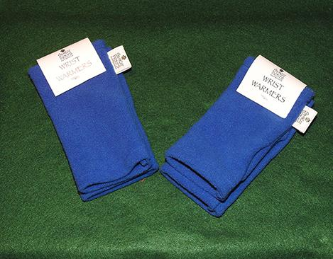 Royal Blue Wrist Warmers